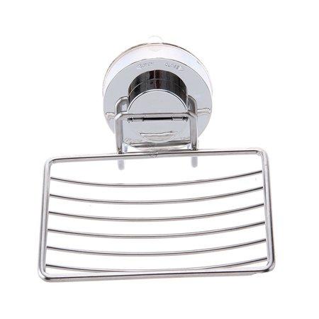 Mosunx Bathroom Shower Soap Shampoo Holder Aluminum Space Bath Soap