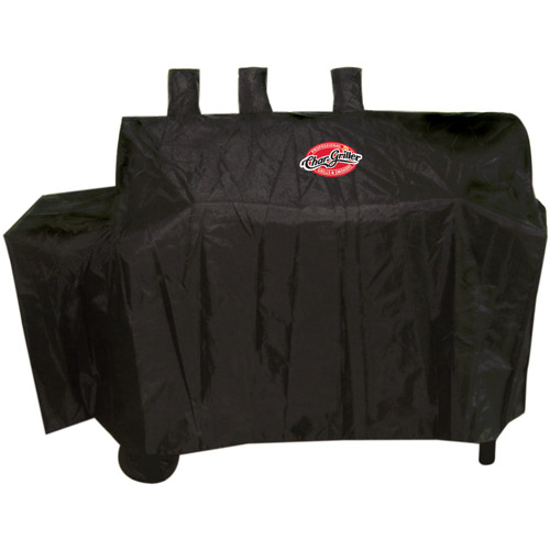 """Char-Griller Polyester Duo Grill Cover, 60"""" x 25"""" x 50"""""""