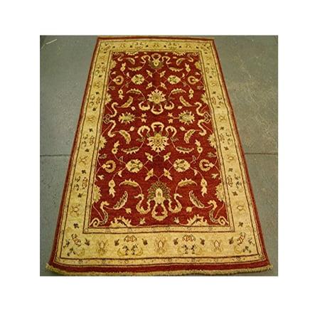 Exclsuive Rare Chobi Mahal Zeigler Vege Dyed Wool Area Rug Hand Knotted Carpet (6.6 x (Chobi Carpet)