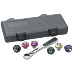 GearWrench 3870D Magnetic Oil Drain Plug Socket Set - Magnetic Socket Inserts Set