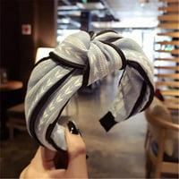iLH Womens Yoga Elastic Cute Hairband Turban Knotted Hair Band Bandanas Headband