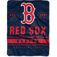 "Boston Red Sox The Northwest Company 60"" x 80"" Backstop Silk Touch Throw Blanket"