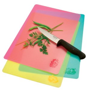 "Norpro Flexible Cutting Mats (3 Pieces), 9.5""x14"""
