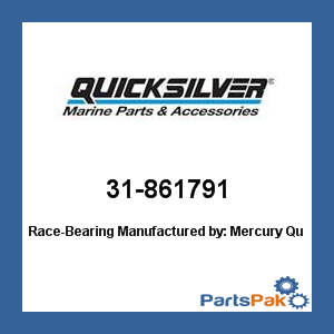 Mercury - Mercruiser 31-861791 Mercury Quicksilver 31-861791 Race-Bearing-