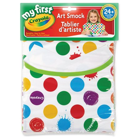 Crayola My First Art Smock Apron Non-Toxic