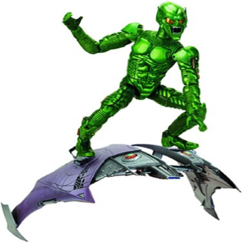 Toy Biz Green Goblin Super Poseable Figure Spiderman Movie