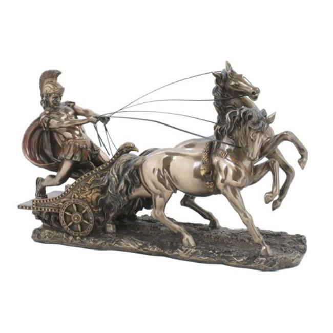Roman Chariot Sculpture - image 1 of 1