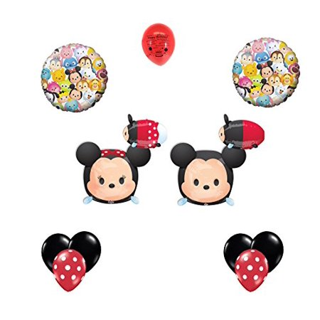 Disney Tsum Tsum Party Supplies Mickey Mouse And Minnie Mouse Balloon Decorating Kit