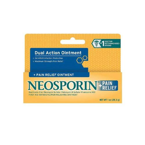 Neosporin + Pain Relief Ointment 0.50 oz (Pack of 6)