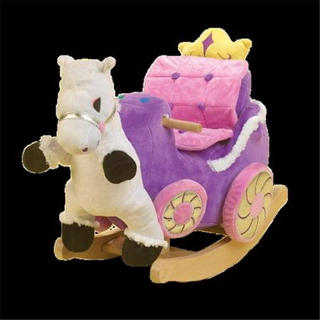 Princess Carriage Rocker - Cardboard Princess Carriage