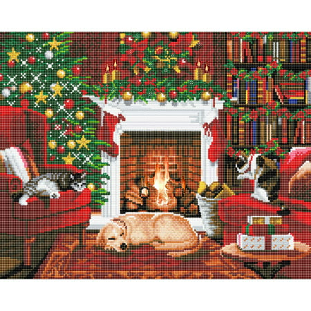 Craft Buddy Pets by the Fireplace Diamond