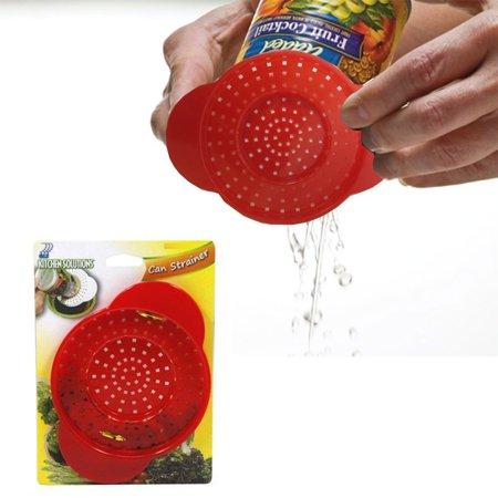 Can Colander Strainer Kitchen Plastic Tool Drains Food Tuna Veggie Dishwasher !!
