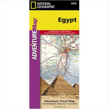 National Geographic Maps AD00003202 Egypt Adventure Map