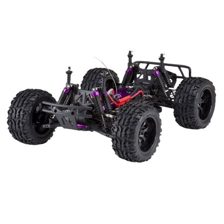 Redcat Racing RER04289 Volcano EPX 1 by 10 Scale Electric Monster Truck, Blue - image 4 de 10
