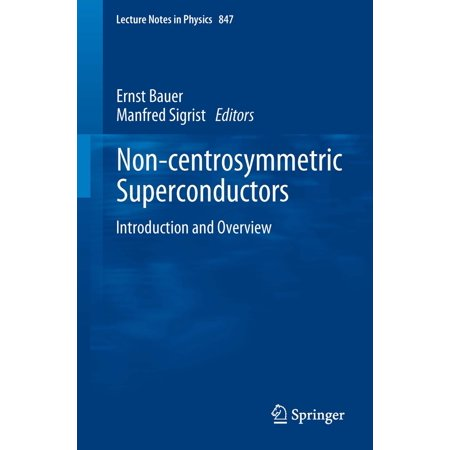 Non-Centrosymmetric Superconductors - eBook