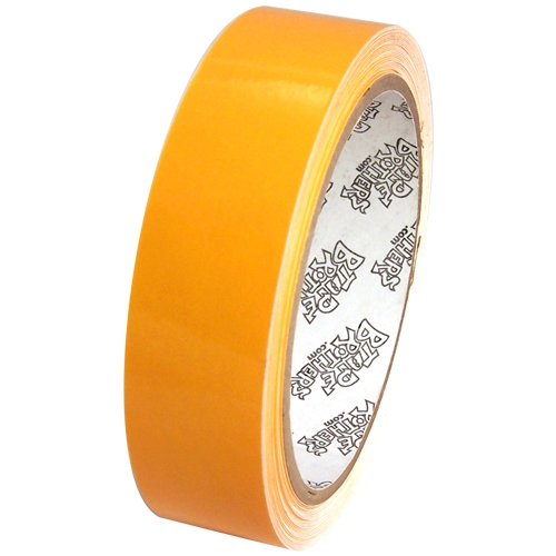 """Tape Planet 3 mil 1"""" x 10 yard Roll Yellow Outdoor Vinyl Tape"""