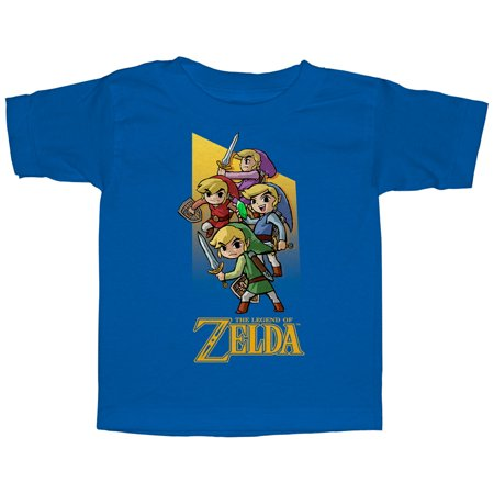 Nintendo Toddler's Legend of Zelda Four Sword Link T-Shirt - Hot Zelda Girls