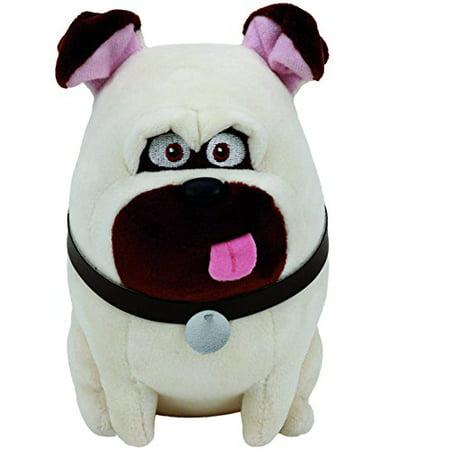 Ty Beanie Babies Secret Life of Pets Mel The Dog Regular Plush ()