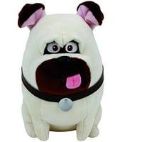 Ty Beanie Babies Secret Life of Pets Mel The Dog Regular Plush