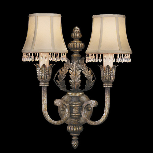 Fine Art Lamps A Midsummer Nights Dream 2 Light Wall Sconce