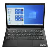 "EVOO 11.6"" Ultra Thin Notebook, HD Display, Intel Celeron Processor, 64GB Storage, 4GB Memory, Front Camera, HDMI, Windows 10 S, Microsoft 365 Personal 1-Year Included"