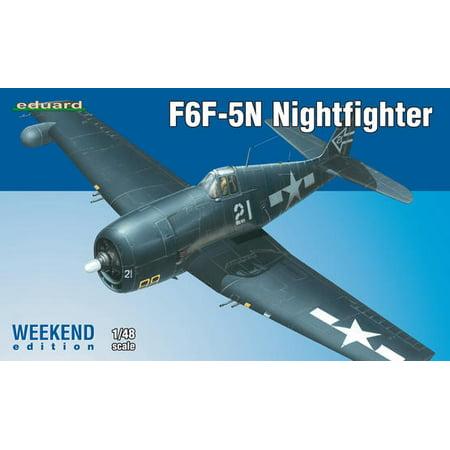 EDU84133 1:48 Eduard F6F-5N Hellcat Nightfighter Weekend Edition [MODEL BUILDING - Hellcat Kit