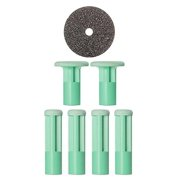 ($20 Value) PMD Personal At-Home Microdermabrasion 6-Piece Replacement Discs, Moderate (Green)