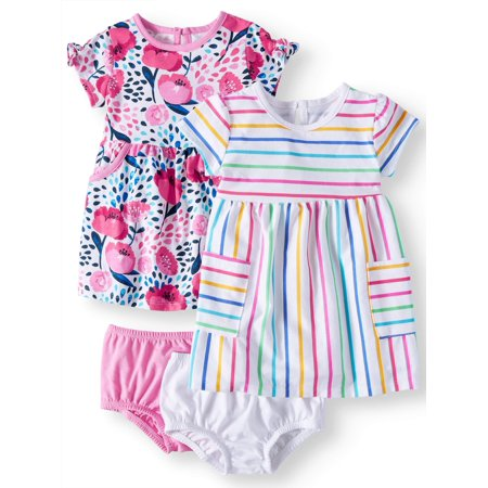 Baby Girls' Knit Dresses, - Baby Girl Rainbow Dress