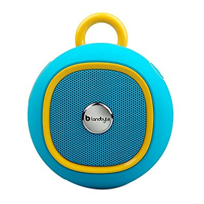 Landbyte Lb 270 Blue Round Outdoor Portable Waterproof Bluetooth Speaker Amplifier 4 0   Super Bass Player  Usb Support High Speed Data Transmission