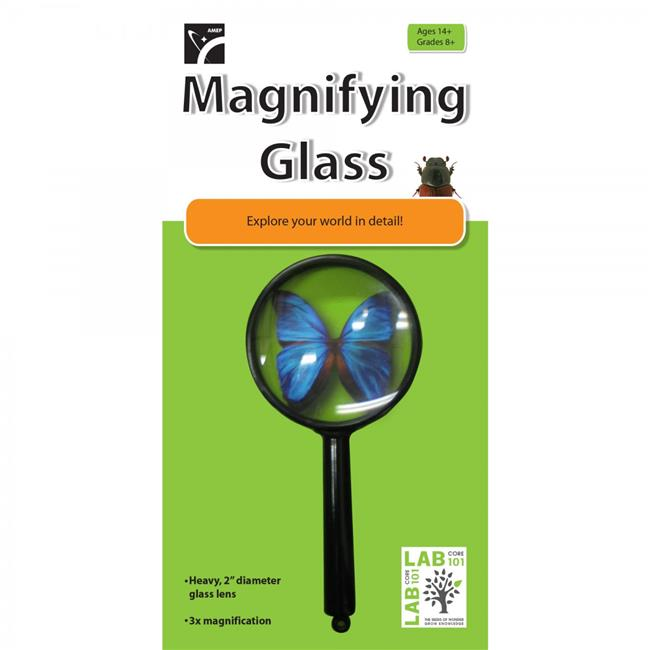American Educational 7-1009-RT Magnifying Glass Lens