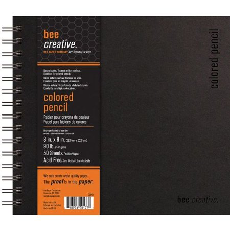 Price Ea Bee Paper B20043 Bee Creative Colored Pencil Book 8   X 8