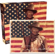 John Wayne Flag 1000 PC Jigsaw Puzzle