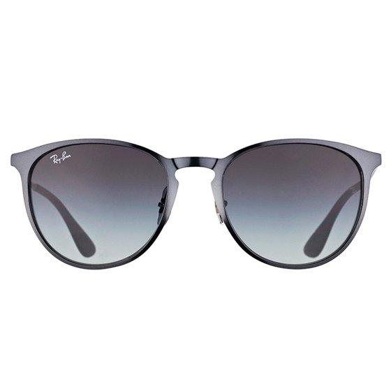 dd50a611482 Ray-Ban - Ray-Ban Erika Metal Grey Gradient Unisex Sunglasses ...