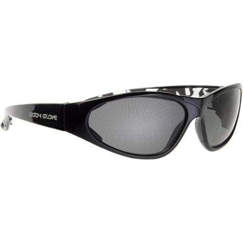 Chase Ergonomics Body Glove InfraRed Safety Glasses, Gray Lens/Midnight Black Frame