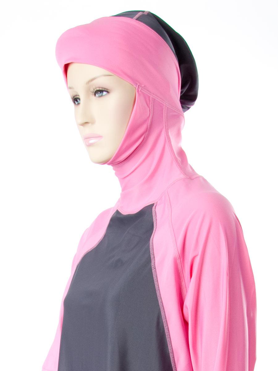 f077c64a81 Al Sharifa - Al-Sharifa Women s Full Coverage Modest Swimsuit Hijab Hooded  Islamic Swimwear - Walmart.com