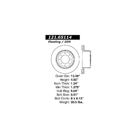 Go-Parts OE Replacement for 2010-2012 Ford F-450 Super