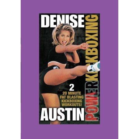 Power Kickboxing: 2 - 20 Minute Fat Blasting Kickb (Denise Austin Kickboxing Cardio Fat Blast Workout)