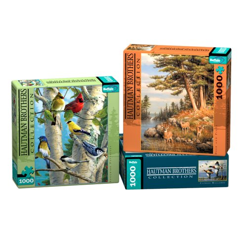 Buffalo Games Hautman Brothers Puzzle, 1,000 Pieces