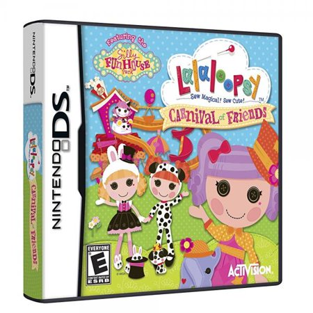 Lalaloopsy Carnival of Friends - Nintendo DS (New Carnival Games Ds)