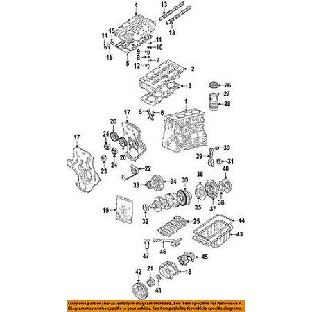 jeep chrysler oem 05-06 liberty-engine conrod connecting rod 68020529aa -  walmart com