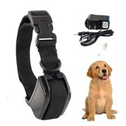 iMeshbean Ultrasonic Anti No Bark Barking Dog Training Collar for Rechargeable Small Medium