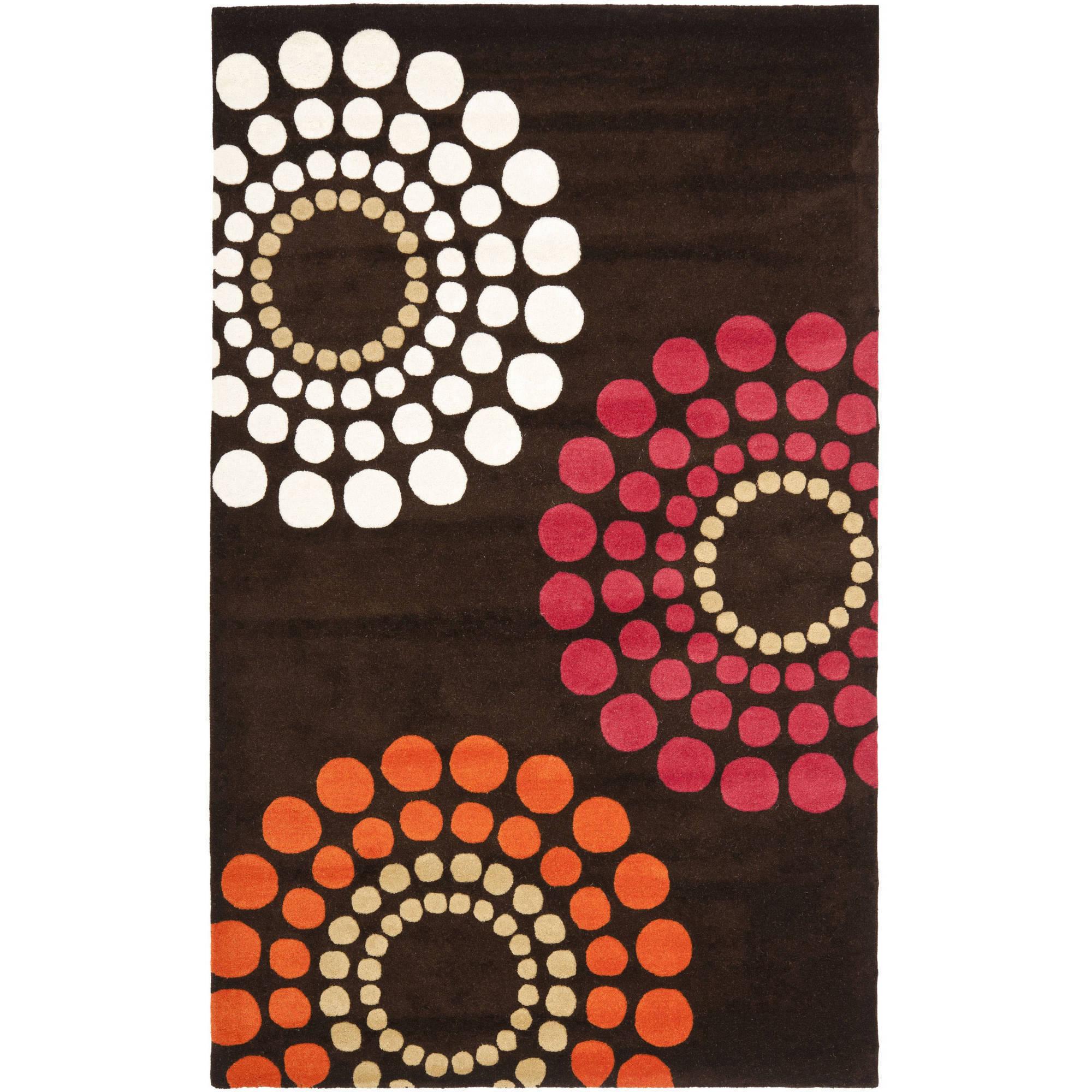 Safavieh Soho Louise Polka Dots Wool Area Rug or Runner