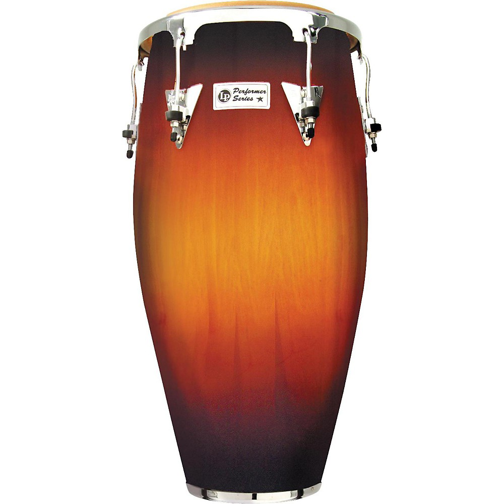 LP Performer Series Conga with Chrome Hardware 11.75 in. Vintage Sunburst