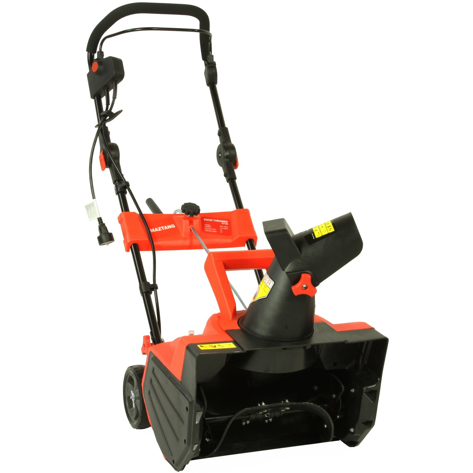 Maztang MT-988 18-Inch 13-Amp Electric Snow Blower