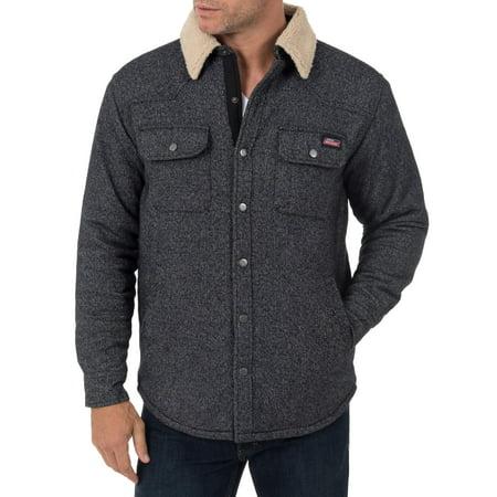 Gothic Coats Mens (Men's Jacquard Sherpa Shirt)