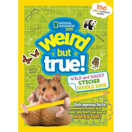 Weird But True Wild and Wacky Sticker Doodle (But Bush Sticker)
