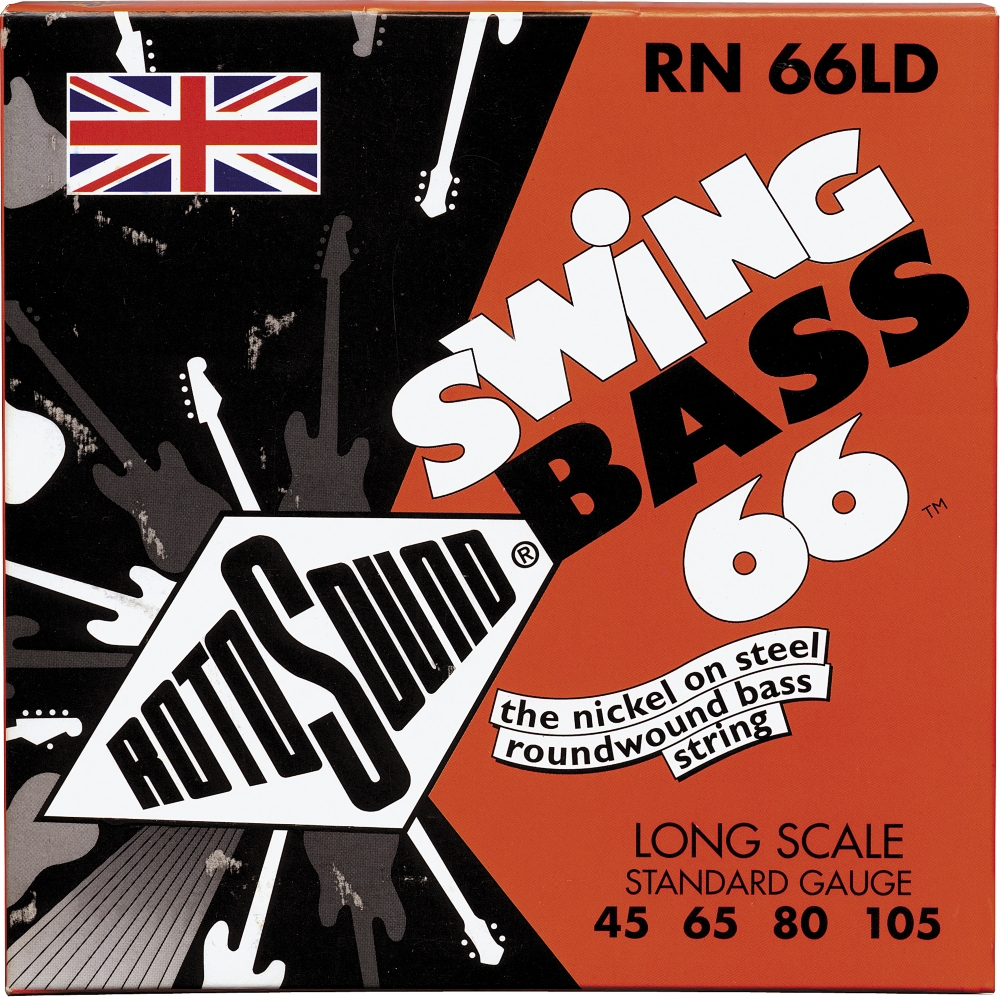 Rotosound RN 66LD Nickel Swing Bass Strings by Rotosound
