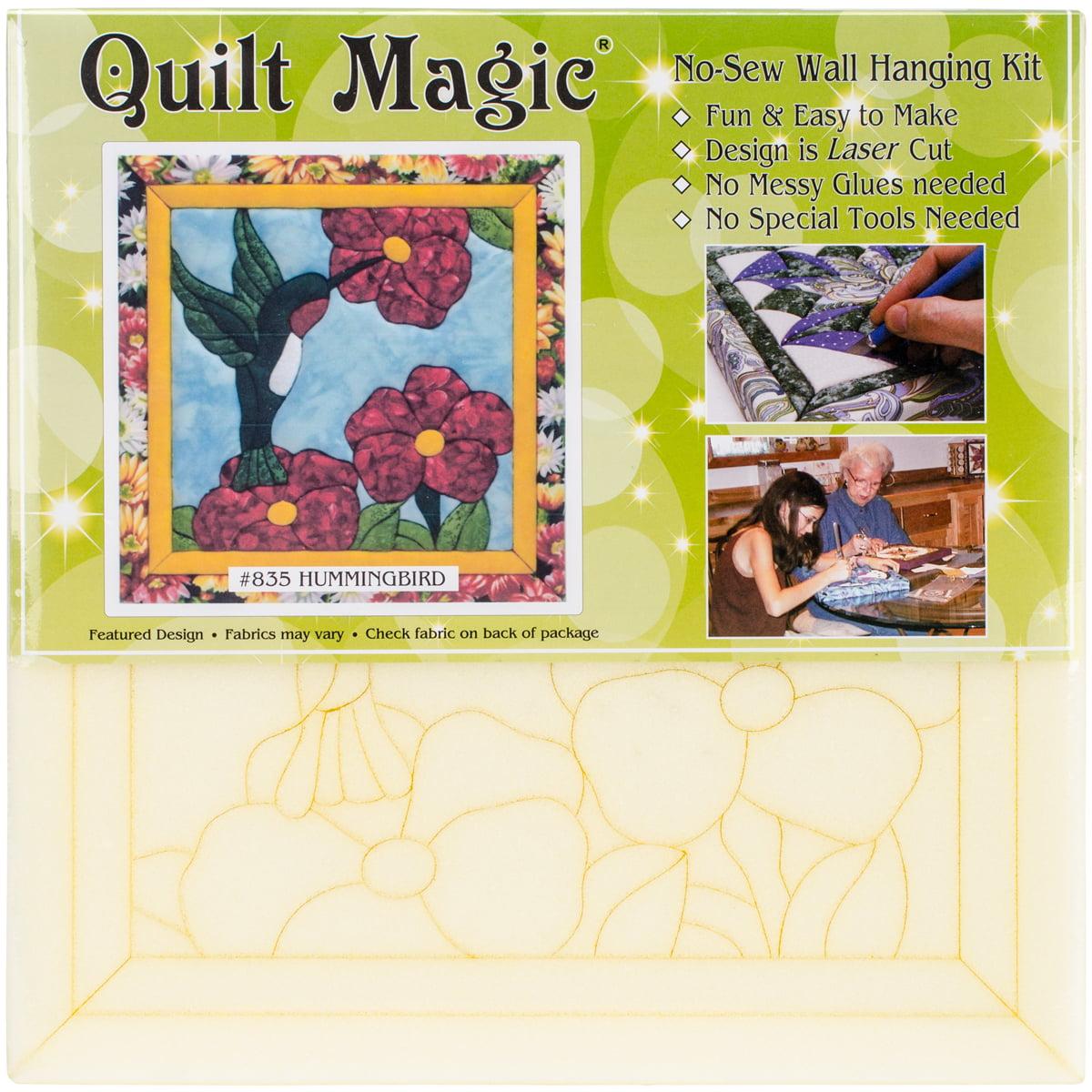Humingbird Quilt Magic Kit-12 Inch X 12 Inch