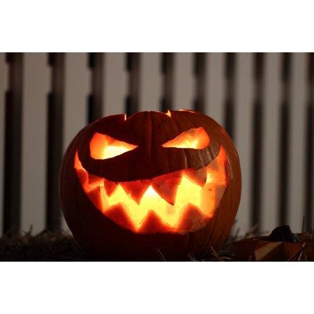 Canvas Print Bright Hollow Out Halloween Pumpkin Frankenweenie Stretched Canvas 10 x - Halloween Pumpkin Print Out