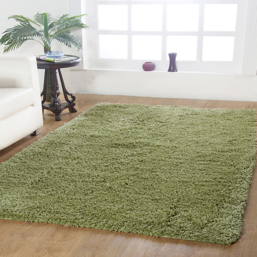 Affinity Home Collection Affinity Hand-woven Sage Area Rug
